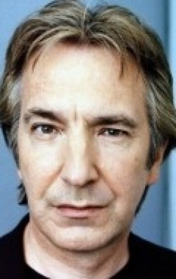 Actor, Director, Writer, Producer Alan Rickman, filmography.