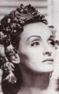 Actress Andrea Palma, filmography.