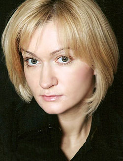Actress Anna Yakunina, filmography.