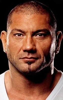 Actor, Producer Dave Bautista, filmography.