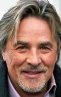 Actor, Director, Writer, Producer, Composer Don Johnson, filmography.
