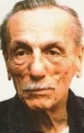 Actor, Director, Writer, Producer Eduardo De Filippo, filmography.