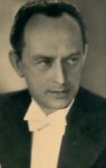Actor Ernst Fritz Furbringer, filmography.
