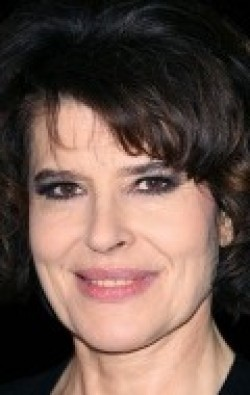 Actress, Director, Writer Fanny Ardant, filmography.