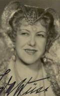 Actress, Writer Ida Wust, filmography.