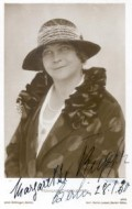 Actress Margarete Kupfer, filmography.