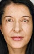 Actress, Producer, Director, Writer Marina Abramovic, filmography.