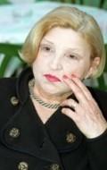 Actress, Writer Mira Banjac, filmography.