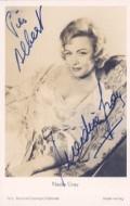 Actress Nadia Gray, filmography.