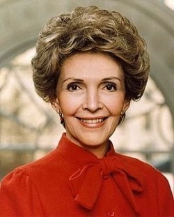 Nancy Reagan filmography.