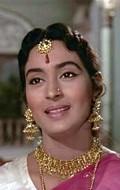 Actress, Producer Nutan, filmography.