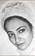 Actress Safura Ibragimova, filmography.