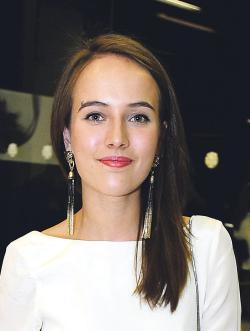 Actress Tereza Vorísková, filmography.