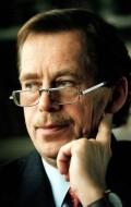 Writer, Actor, Director Vaclav Havel, filmography.