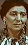 Actress Verjaluys Mirijanyan, filmography.