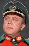 Actor Werner Peters, filmography.