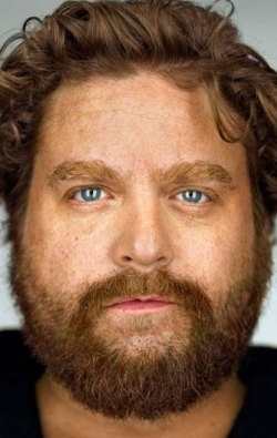 Actor, Writer, Producer Zach Galifianakis, filmography.