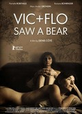 Vic + Flo ont vu un ours - wallpapers.