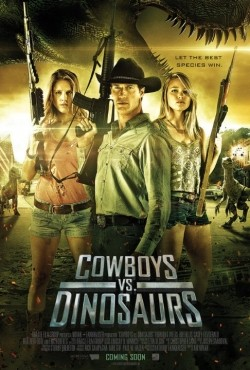 Cowboys vs Dinosaurs - wallpapers.