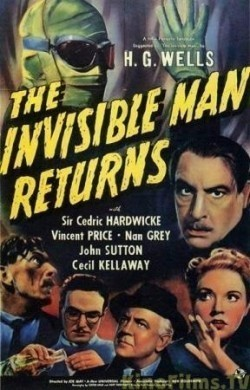 The Invisible Man Returns - wallpapers.