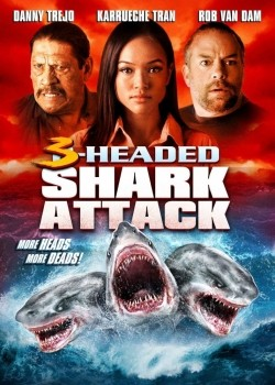 3 Headed Shark Attack pictures.