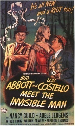 Abbott and Costello Meet the Invisible Man - wallpapers.