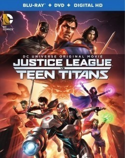 Justice League vs. Teen Titans pictures.