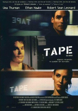 Tape pictures.