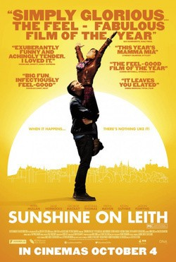Sunshine on Leith pictures.