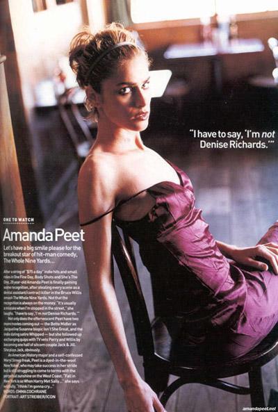 Amanda Peet wallpaper